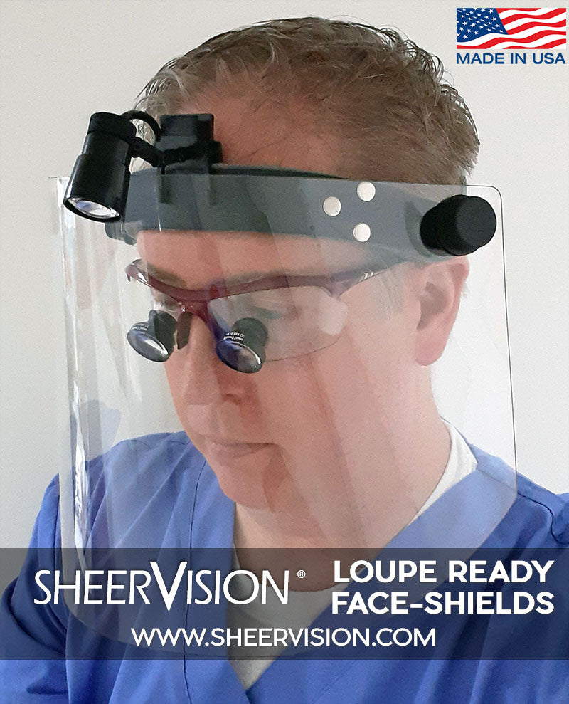Introducing the New SV Face-Shield: Premium Protective Shield for Surgical & Dental Use