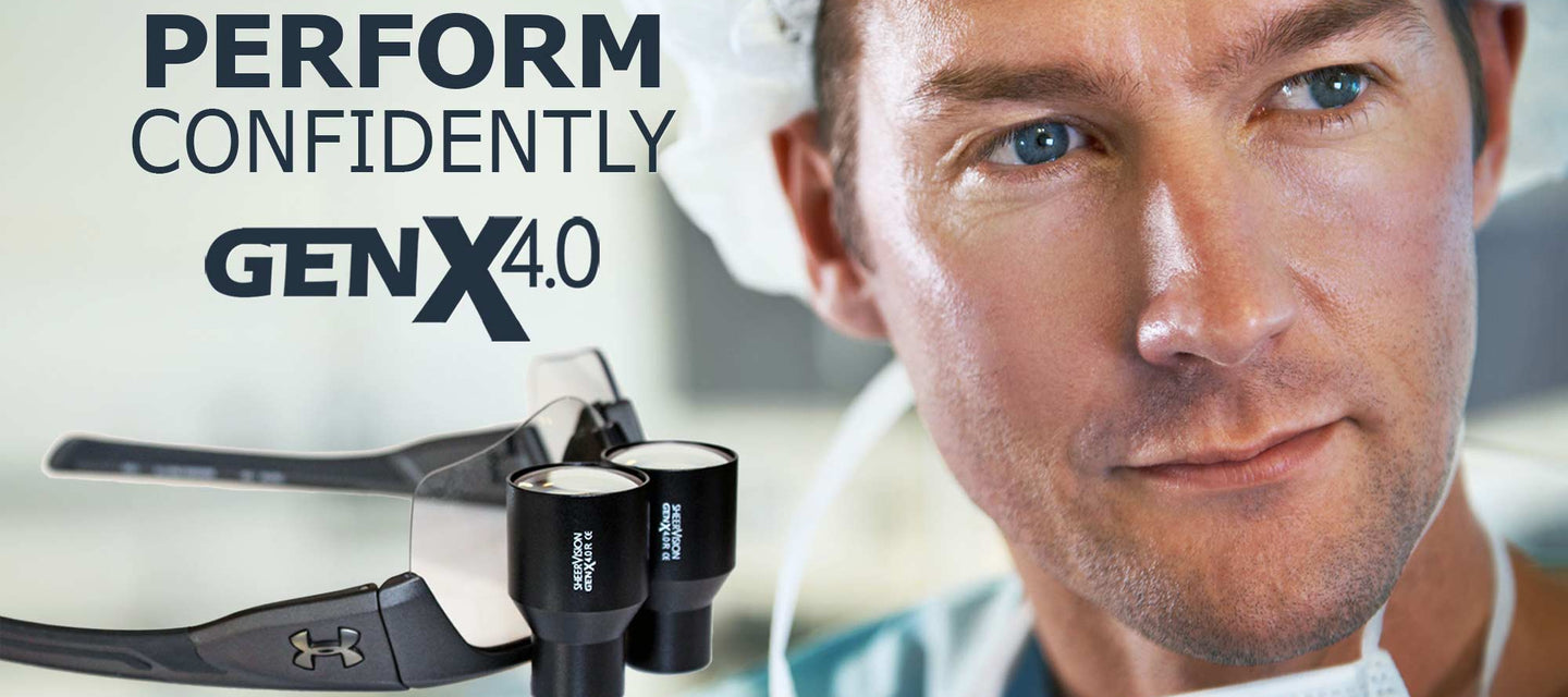 Perform Surgery or Dentistry Confidently with New GenX 4.0x High Mag Custom TTL Loupes by SheerVision.