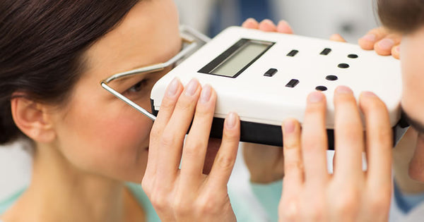Using a Pupillary Distance Measuring Device (Pupilometer) to measure loupes for a dental hygienist