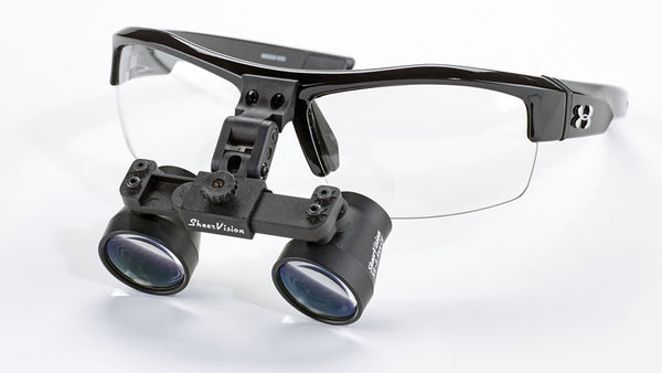 Flip-Up Expanded-Field Loupes: Under Armour Frame