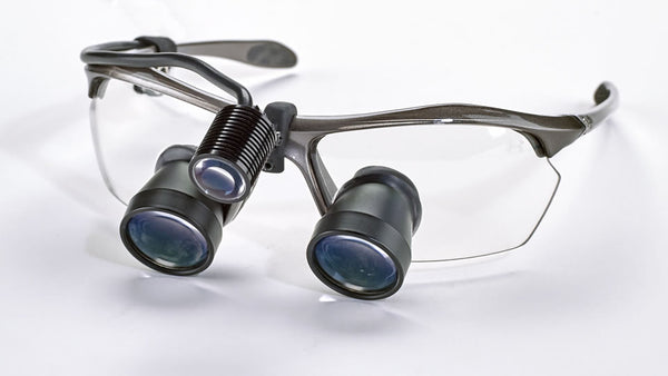 TTL Expanded-Field Loupes w/Under Armour Frame & Ultra-Mini Headlight Package