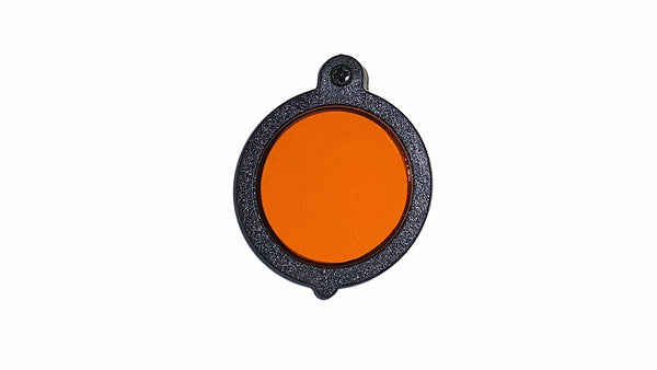 Closed View V-RAY LED Headlight Dental Composite Orange Flip-Filter