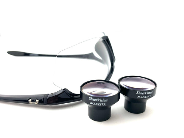 TTL Micro-Mini 2.5x Loupe: Under Armour Frame