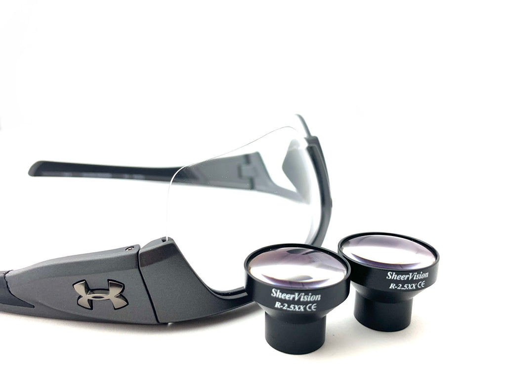 Flip-Up Micro-Mini 2.5x Loupe: Under Armour Frame