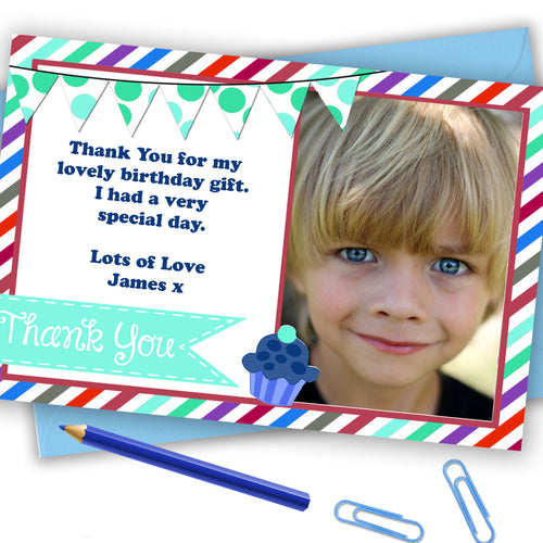 'Sweetie' Boys Thank You Cards - CLCDesigns