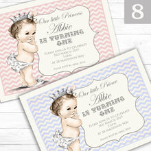Load image into Gallery viewer, 'Vintage' Children's Birthday Party Invite - CLCDesigns