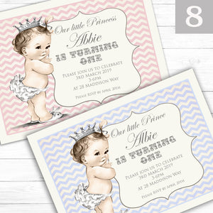 'Vintage' Children's Birthday Party Invite - CLCDesigns