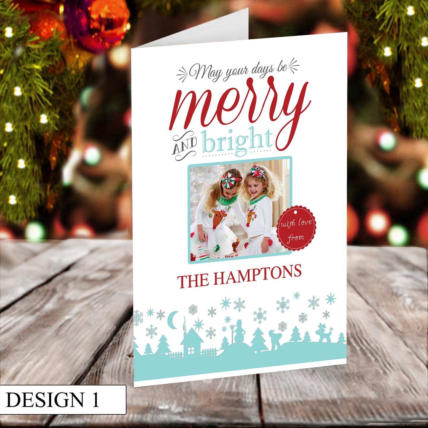 Merry & Bright Christmas Cards