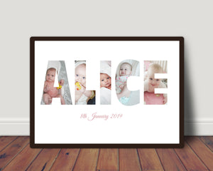 Any Word In Photos Perfect For Mothers Day