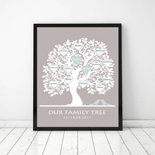 Load image into Gallery viewer, Personalised family tree