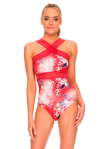 Sunseeker Portabello Elastic High Neck One Piece