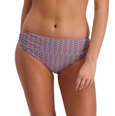 Moontide Kaleidoscope Reversible Ruched Front Swim Pant