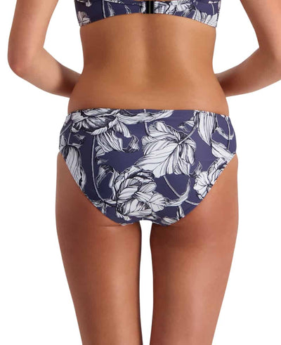 Moontide Mono Bloom Mid Rise Bikini Pant