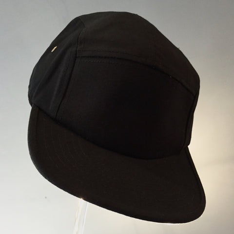 Black 5 Pannel Cap