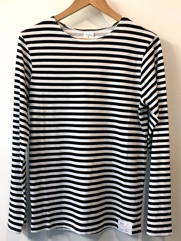 Russian Naval Long Sleeve T-shirt - BLACK STRIPES