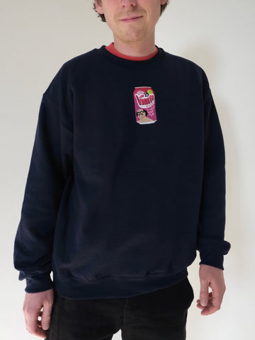 Limpet Store - Danny De Vimto - Embroidered Sweatshirt - NAVY