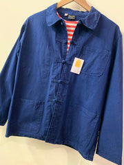 Indigo Work Jacket