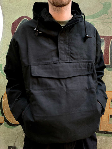 Pullover Smock - BLACK - FREE UK SHIPPING