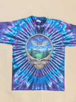 1990s Grateful Dead Tie-Dye Double Sided Graphics Tee