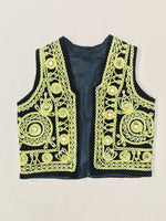 Little Traveler Vintage Children's Mirrored Velvet Vest