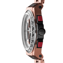Otto Chrono Rose Gold Link - Hydrogen Watch