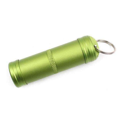 Waterproof Aluminum Pill Capsule - Treehouse Supply - Plastic free, ecofriendly products