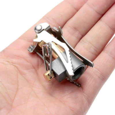 Mini Folding Gas Stove Tool - Treehouse Supply - Plastic free, ecofriendly products