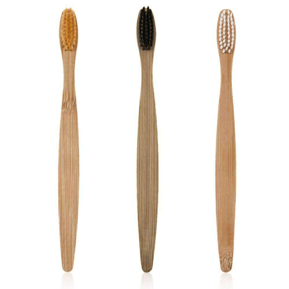 Bamboo Toothbrush (1) - Treehouse Supply - Plastic free, ecofriendly products