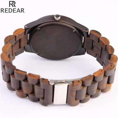 REDEAR Vintage Full Wooden Watch - Treehouse Supply - Plastic free, ecofriendly products