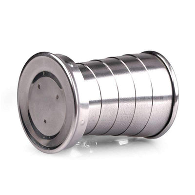 Stainless Steel Collapsible Cup - Treehouse Supply - Plastic free, ecofriendly products