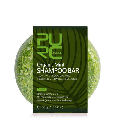 Organic Mint Shampoo Bar - Treehouse Supply - Plastic free, ecofriendly products