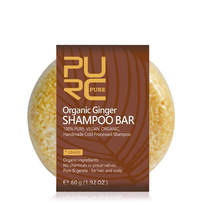 Organic Ginger Shampoor Bar - Treehouse Supply - Plastic free, ecofriendly products
