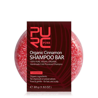 Organic Cinnamon Shampoo Bar - Treehouse Supply - Plastic free, ecofriendly products