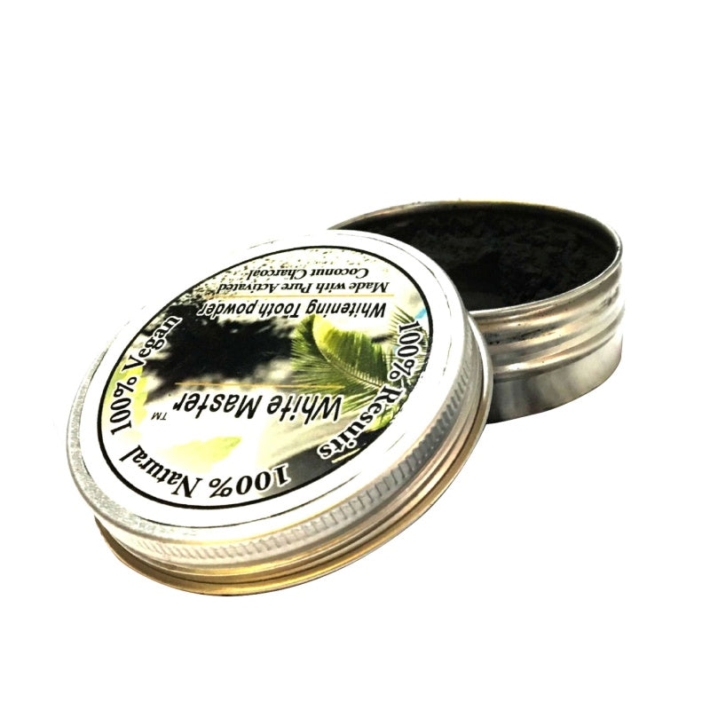 Activated Charcoal Tooth Whitening Powder - Treehouse Supply - Plastic free, ecofriendly products