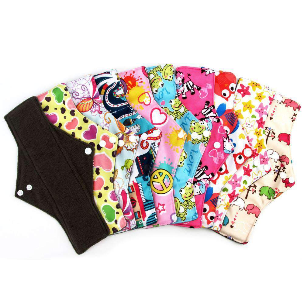 Reusable Menstrual Pad (only 1 pad) - Treehouse Supply - Plastic free, ecofriendly products