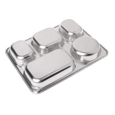 Stainless Steel Bento Lunchbox - Treehouse Supply - Plastic free, ecofriendly products