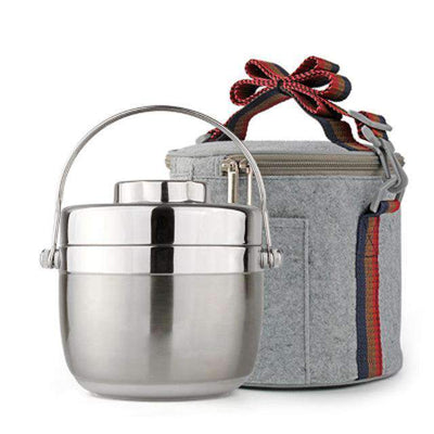 Stainless Steel Thermal Lunch Box - Treehouse Supply - Plastic free, ecofriendly products