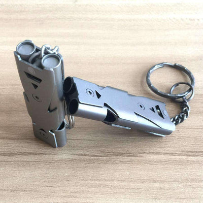 Titanium Survival Whistle - Treehouse Supply - Plastic free, ecofriendly products