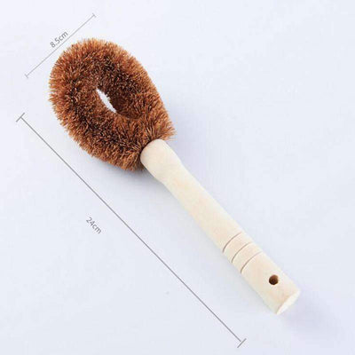 Coconut Fiber Brush - Treehouse Supply - Plastic free, ecofriendly products