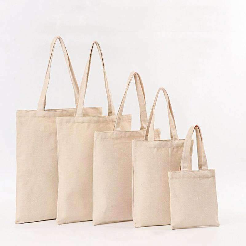 Plain Cotton Tote Bag - Treehouse Supply - Plastic free, ecofriendly products