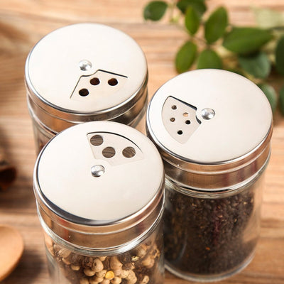 Stainless Steel Spice Container - Treehouse Supply - Plastic free, ecofriendly products