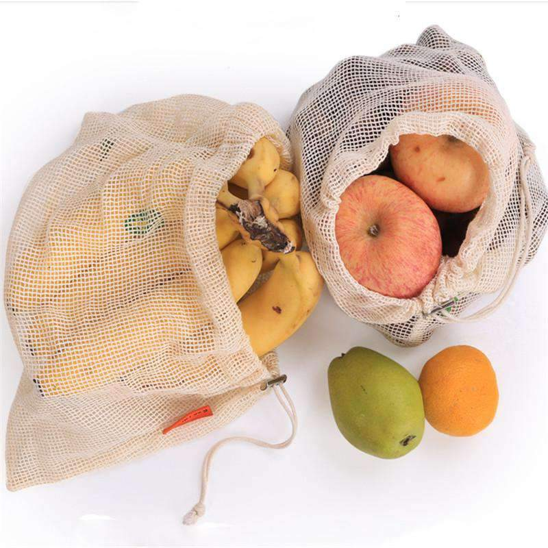 Reusable Cotton Produce Bag - Treehouse Supply - Plastic free, ecofriendly products