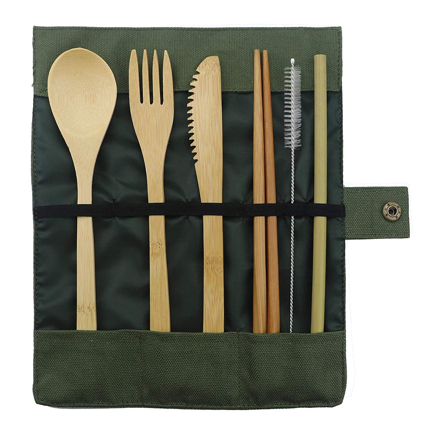 Bamboo Lunch Utensil Kit - Treehouse Supply - Plastic free, ecofriendly products