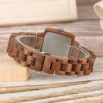 Walnut Wooden Watch - Treehouse Supply - Plastic free, ecofriendly products