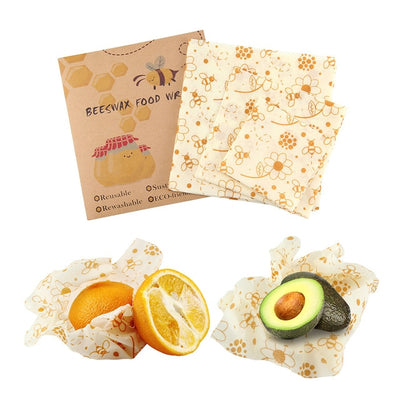 Bees Wax Food Wraps - Treehouse Supply - Plastic free, ecofriendly products