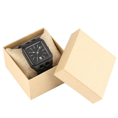 Retro Wooden Watch - Treehouse Supply - Plastic free, ecofriendly products