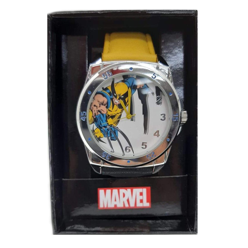 Marvel watch Wolverine Classic Colors Strap Watch bracelette