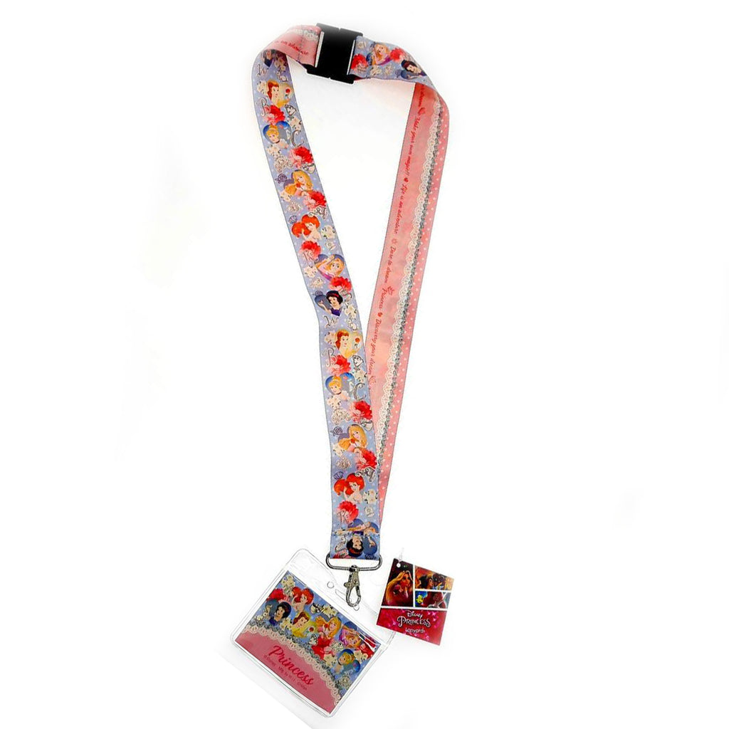 Disney Princess Deluxe Lanyard Official