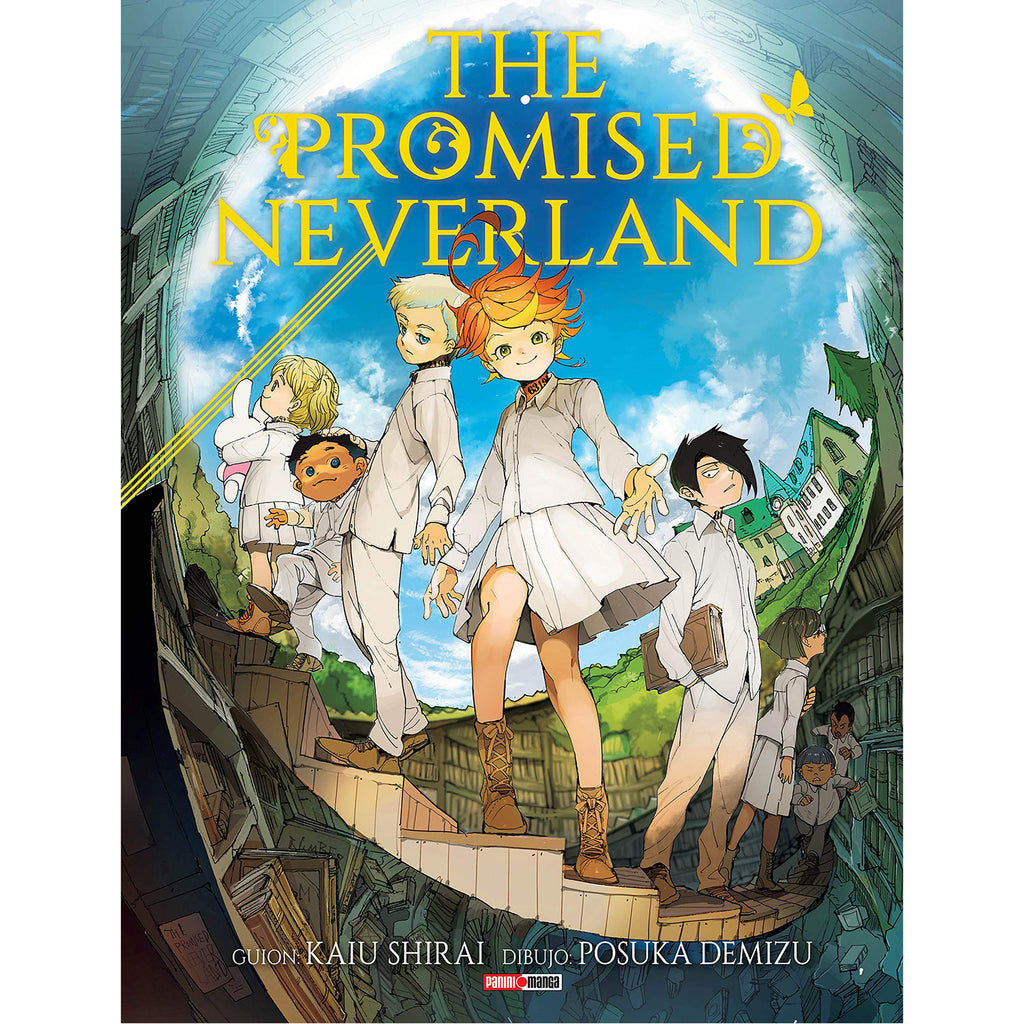 "The Promised Neverland Vol 1 Paperback ""Spanish Edition"""