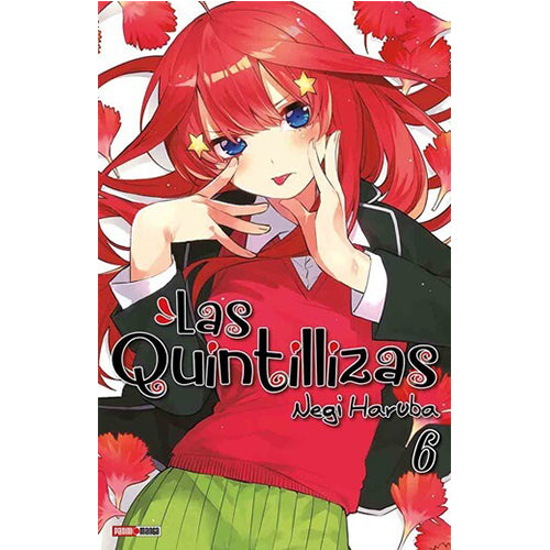 "The Quintessential Quintuplets Vol 6 Paperback ""Spanish Edition"""